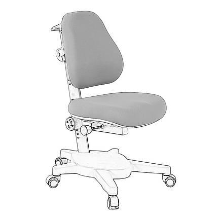 Чохол для крісла Cubby Solidago Grey, фото 2