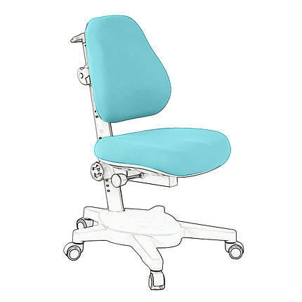 Чехол для кресла Cubby Solidago Green, фото 2