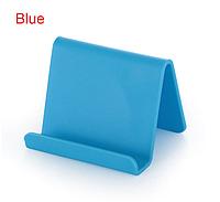 Подставка для телефона, планшета, Голубая