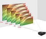 Проектор TouYinger S1080 Android 9 с Wi-Fi мультимедийный проектор для дома, офиса, школы, фото 7