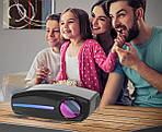 Проектор TouYinger S1080 Android 9 с Wi-Fi мультимедийный проектор для дома, офиса, школы, фото 5