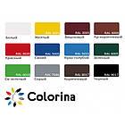 Резиновая краска Красно-коричневая RAL 3009 Colorina 3,6кг (матовая акриловая колорина для крыш), фото 3