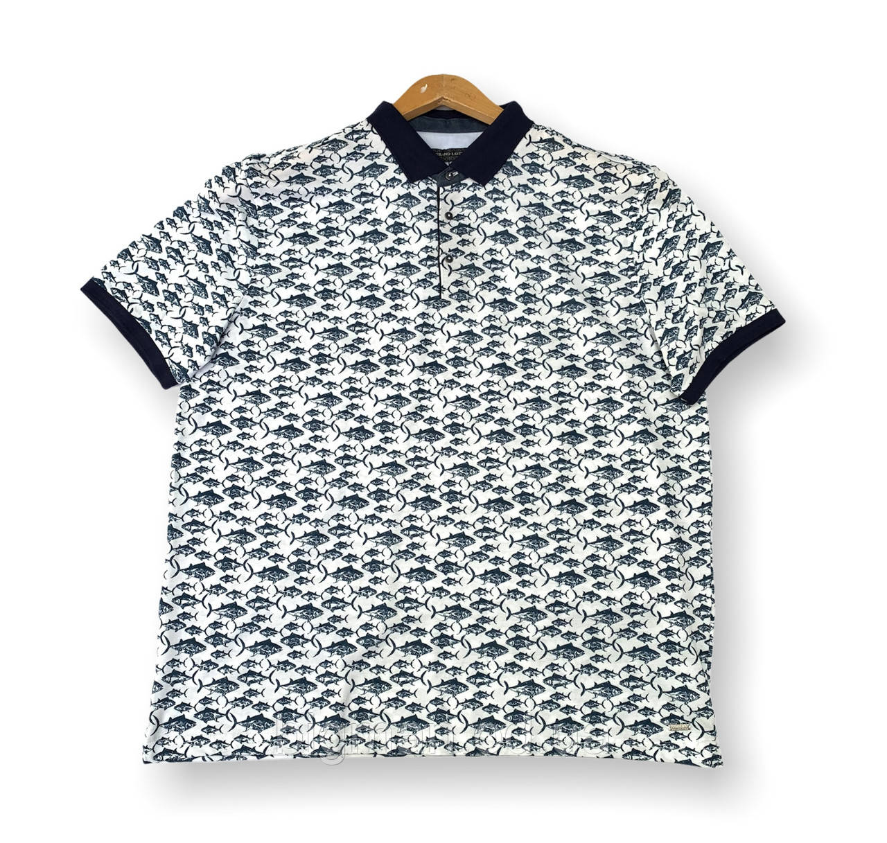 Мужская футболка с воротником поло тениска батал (большие размеры 4XL 7XL) Grand la Vita, Турция