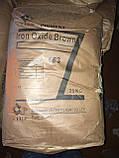 Пигмент коричневый железоокисный для гипса и бетона (пакет 3 кг), фото 2