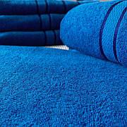 Рушник махровий Сауна 100х150 Синій FaDolli Ricci Узбекистан