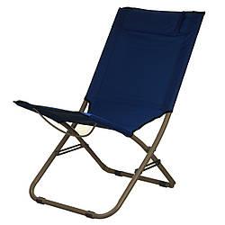 Кресло раскладное туристическое Stenson MH-3304, Blue