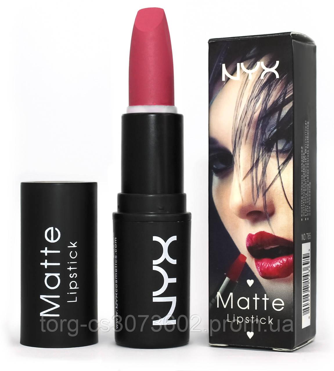 Матова помада NYX Matte Lipstick No:785