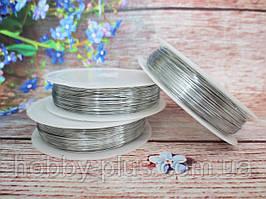 Флористична дріт 0,3 мм, 50 м, колір сріблястий