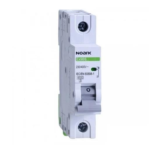 Автоматичний вимикач Noark 1Р 6А тип С 4,5 kA