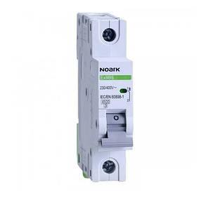 Автоматичний вимикач Noark 1Р 20А тип С 4,5 kA, фото 2