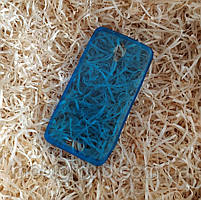 Чехол силиконовый плотный для Lenovo S660, Синий