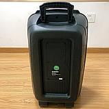 Акустична акумуляторна колонка 12 дюймів (USB/FM/BT/LED) KIMISO QS-1290, фото 4