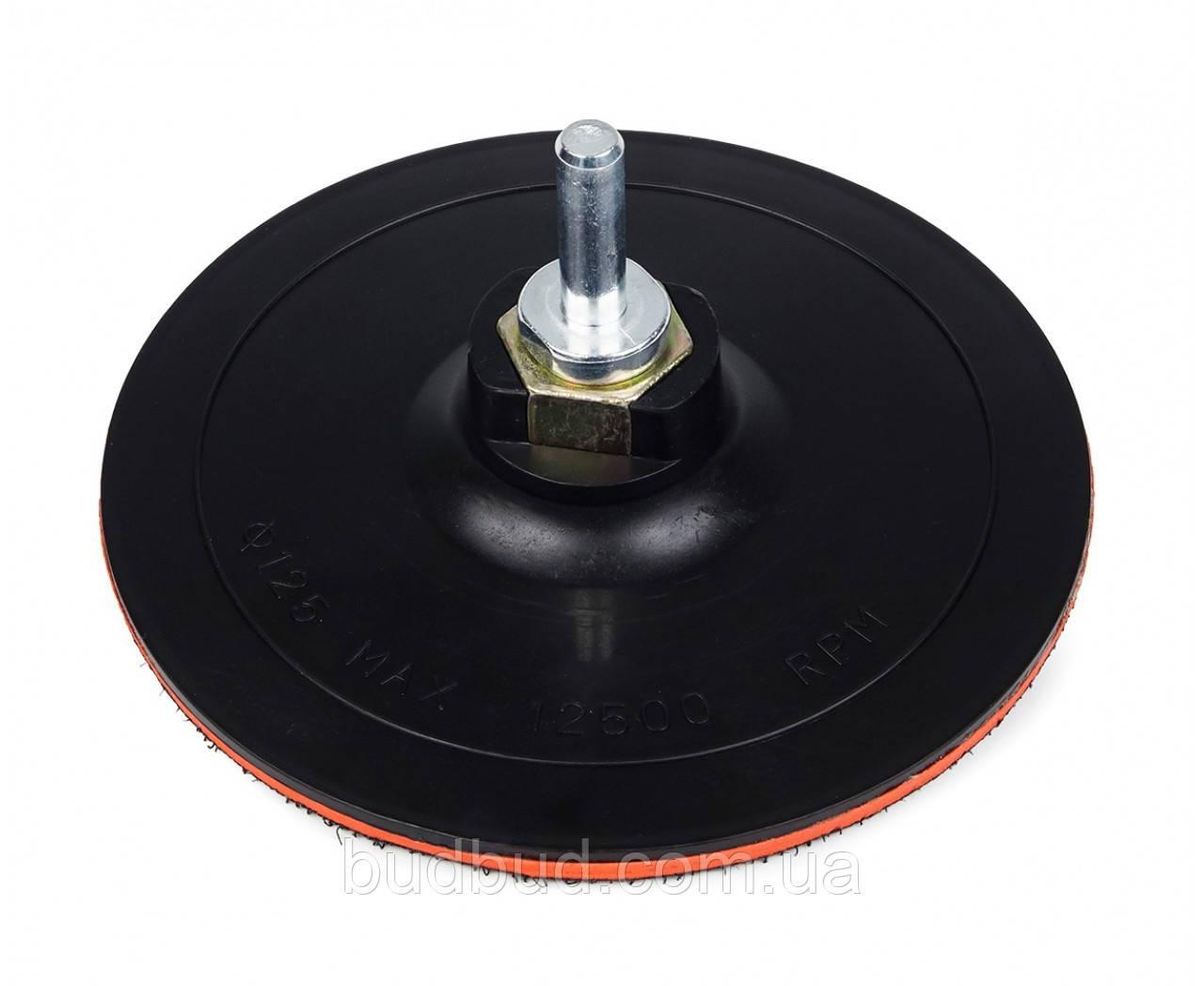 Крепежная платформа для наждачных кругов 125мм*2мм (54-043) POLAX