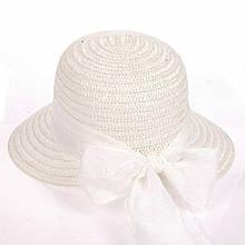 Летняя  шляпка из соломки размер 56-58 см