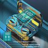M15 TWS Bluetooth Стерео Динамік Active Шумозаглушення LED Дисплей Навушники з акумулятором 2000 мАч, фото 2