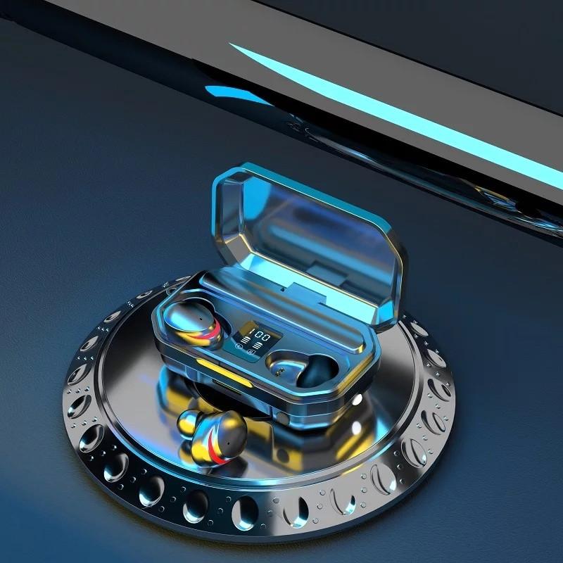 M15 TWS Bluetooth Стерео Динамік Active Шумозаглушення LED Дисплей Навушники з акумулятором 2000 мАч
