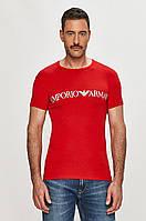 Мужская футболка Armani Exchange, красная армани