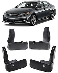 Брызговики на Toyota Camry/Тойоту Камри в 50 USA 2011-2014 до рестайлинга AVTM полный комплект