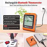 Bluetooth-термометр для мяса ThermoPro TP-25H2 с двойным зондом (150 метров) Bluetooth 5.0, фото 6