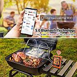 Bluetooth-термометр для мяса ThermoPro TP-25H2 с двойным зондом (150 метров) Bluetooth 5.0, фото 5