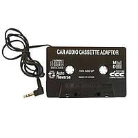 Адаптер AUX для касетних магнітол CASSETE JACK 3.5 Чорний