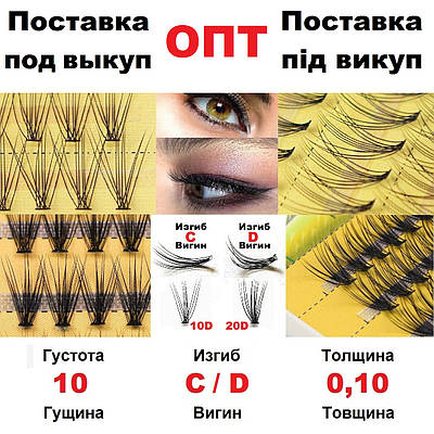 ПОД ЗАКАЗ ОПТ от 1000 шт 10D Nesura Eyelash Несура Супер цена Бесплатная доставка