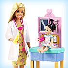 Кукла Барби Педиатр блондинка, фото 7