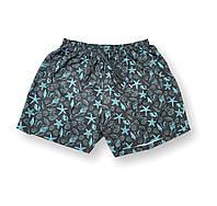 Мужские батальные черные плавательные шорты/плавки пляжные большие размеры (2XL 3XL 5XL) Anex Турция, фото 1