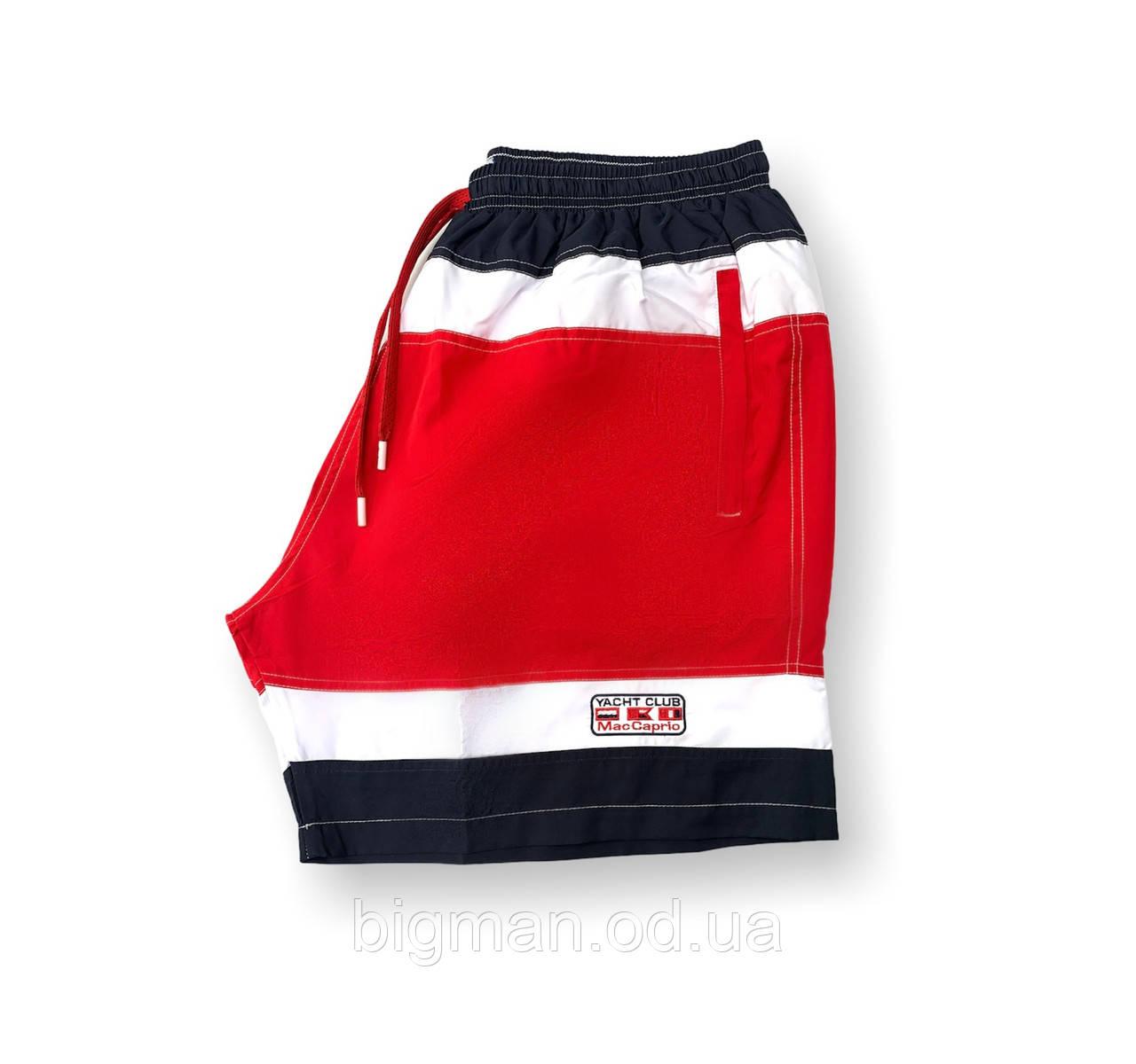 Мужские батальные синие плавательные шорты/плавки пляжные большие размеры (3XL) Anex Турция