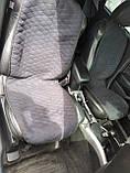 """Накидки на сидіння """"Кристал"""" велюр синій ромб універсальні, фото 4"""