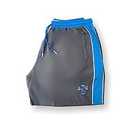 Мужские батальные серые плавательные шорты/плавки пляжные большие размеры (4XL 6XL) Anex Турция
