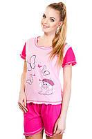 Пижама розовый щенок