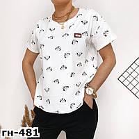 Стильная женская летняя футболка