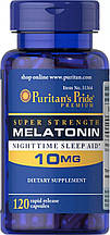 Мелатонін Puritan's Pride Melatonin 10 mg 120 caps