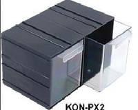 Кассетница пластиковая 1*1 (KON-PX2)