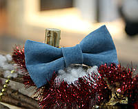 Кожаная галстук-бабочка I&M (010849)