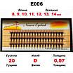 ПІД ЗАМОВЛЕННЯ ОПТ від 300 шт 20D Nesura Eyelash Несура Супер ціна Безкоштовна доставка, фото 3