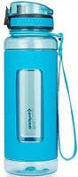 Бутылка для воды KingCamp SILICON TRITAN BOTTLE(KA1144) (royal blue)