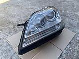 Фара левая биксенон Mercedes ML W164 ксенон на 2 блоки Мерседес мл 164, фото 3