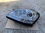 Фара левая биксенон Mercedes ML W164 ксенон на 2 блоки Мерседес мл 164, фото 6