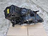 Фара левая биксенон Mercedes ML W164 ксенон на 2 блоки Мерседес мл 164, фото 7