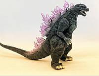 Годзілла фігурка Фіолет пластикова іграшка для фанатів Godzilla Годзілла 14 см