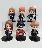Гаррі Поттер набір Школа Магії з 6 фігурок 10см ПВХ Гаррі Поттер
