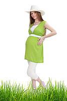 Туника 2в1 для беременных и кормления