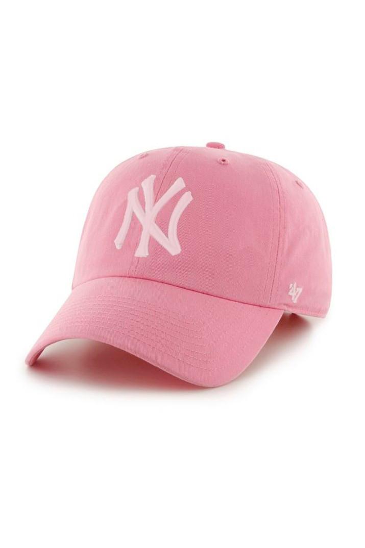 Кепка '47 NEW YORK YANKEES рожева MISC (B-RGW17GWSNL-RSA)
