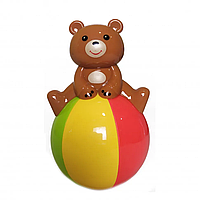 Звукова неваляшка мишко! кольори в асортименті, розвиваюча іграшка,неваляшка ведмідь, фото 1