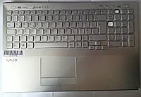 Sony Vaio PCG-41414 Корпус C (топкейс, средняя часть+клавиатура) бу