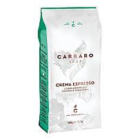Кофе в зёрнах Carraro Crema Espresso 1000g