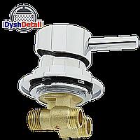 Смеситель для гидромассажной ванны и скрытого монтажа (ДЖ 6101) встраиваемый в изделие