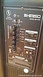 Акустическая аккумуляторная колонка 15 дюймов с микрофоном (USB/FM/BT/LED) KIMISO QS-1510 BT, фото 5
